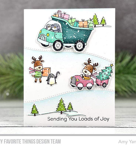 My Favorite Things Loads of Joy Stamps Set - Crafty Meraki