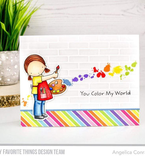 My Favorite Things PI You Color My World Stamps Set - Crafty Meraki