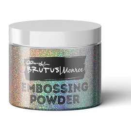Brutus Monroe Embossing Powder-Rainbow Sparkle - Crafty Meraki