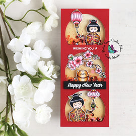 Crafty Meraki Year of the Ox stamp set - Crafty Meraki
