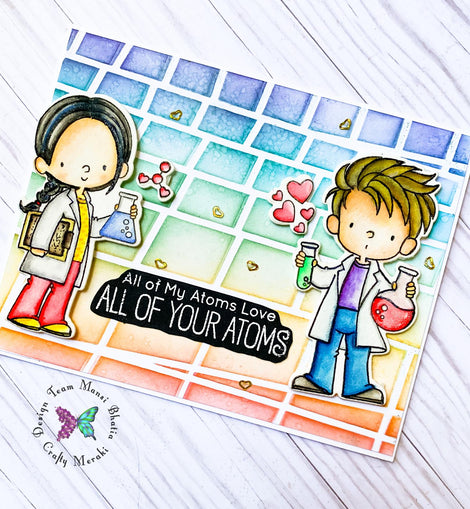 My Favorite Things BB Cute Chemists Stamp Set - Crafty Meraki