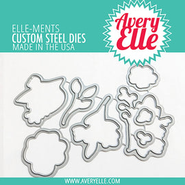 Avery Elle Sending Flowers Elle-ments - Crafty Meraki