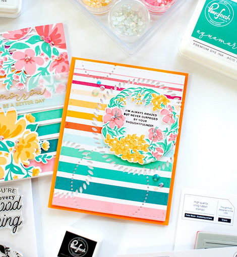 Pinkfresh Studio Every Good Thing Coordinating Die Set - Crafty Meraki