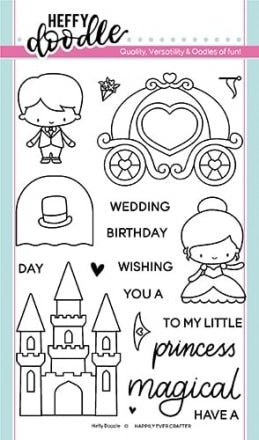 Heffy Doodle Happily Ever Crafter Stamps - Crafty Meraki