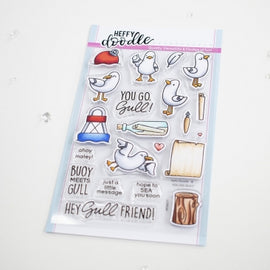Heffy Doodle You Go Gull Stamps - Crafty Meraki