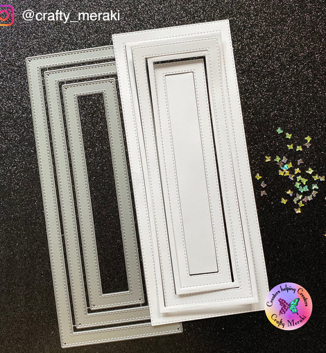 Crafty Meraki Frame-Worthy Slimline die - Crafty Meraki