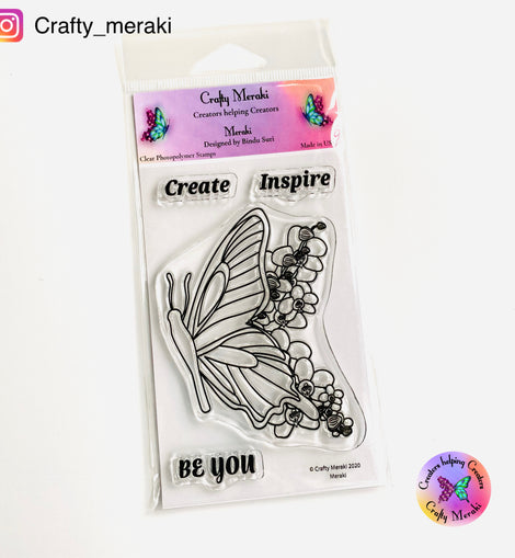Crafty Meraki MERAKI Clear stamp set - Crafty Meraki