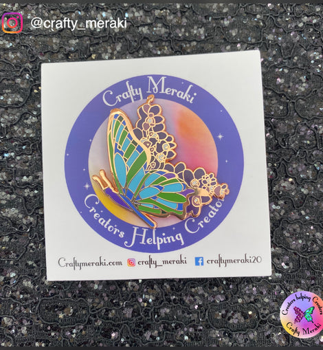 Crafty Meraki Enamel Pin - Crafty Meraki