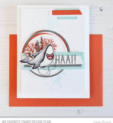 My Favorite Things BB Friends with Fins Stamp set - Crafty Meraki
