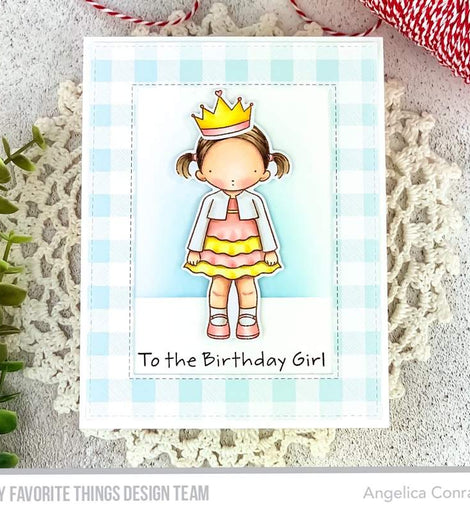My Favorite Things PI Birthday Girl Stamps Set - Crafty Meraki