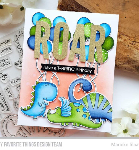 My Favorite Things Balloon Bundle Stamp Set - Crafty Meraki