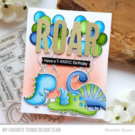 My Favorite Things A-roar-able Friends Stamps Set - Crafty Meraki