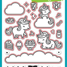 Lawn Fawn Unicorn Picnic - lawn cuts - Crafty Meraki