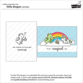 Lawn Fawn Little Dragon - Crafty Meraki