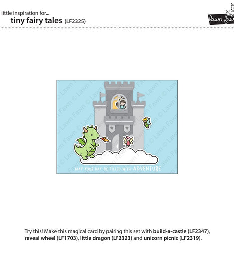 Lawn Fawn tiny fairy tale - Crafty Meraki
