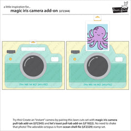 Lawn Fawn magic iris camera add-on - Crafty Meraki