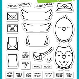 Lawn Fawn special delivery stamp - Crafty Meraki