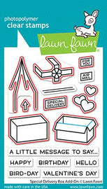 Lawn Fawn special delivery box add-on lawn cuts - Crafty Meraki