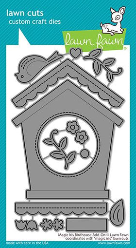 Lawn Fawn magic iris birdhouse add-on die - Crafty Meraki