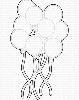 My Favorite Things Balloon Bundle Die-namics - Crafty Meraki