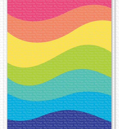 My Favorite Things Color wave Cover- Up Die-namics - Crafty Meraki
