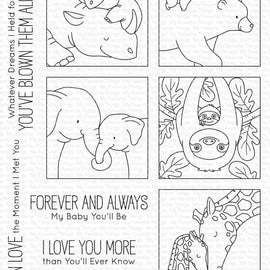 My Favorite Things BB I'll Love You Forever Stamp set - Crafty Meraki