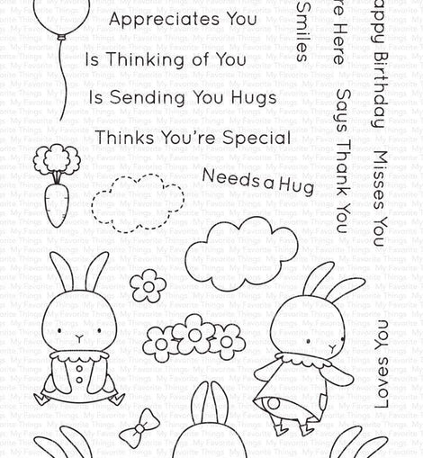 My Favorite Things BB Somebunny Stamp Set - Crafty Meraki