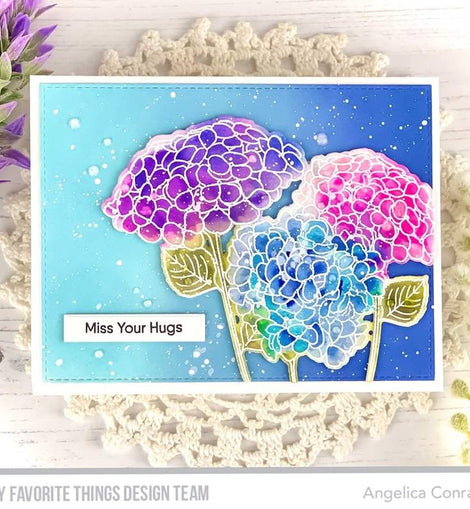 My Favorite Things Hydrangeas in Bloom Die-namics - Crafty Meraki