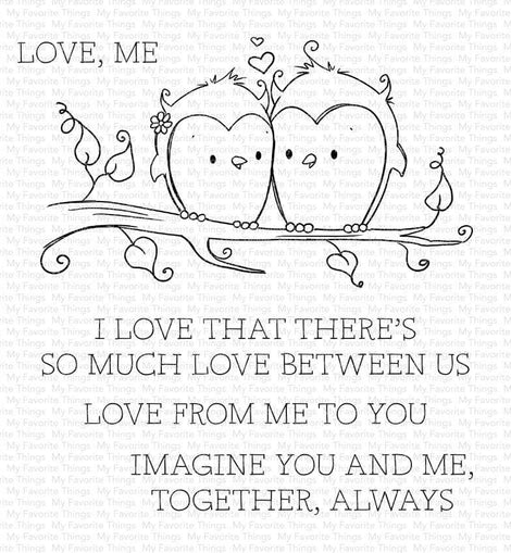 My Favorite Things RAM You and Me Together Stamp set - Crafty Meraki