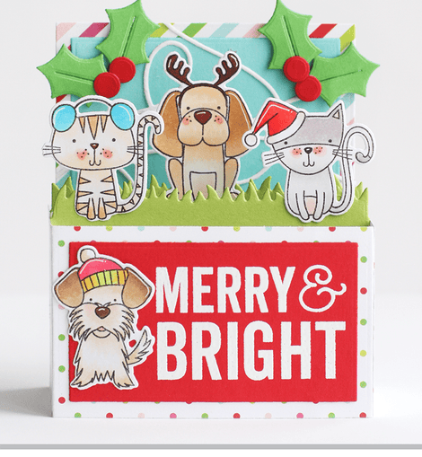 My Favorite Things Merry & Bright Stamps