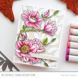 My Favorite Things Magnolia Blossoms Stamps Set - Crafty Meraki