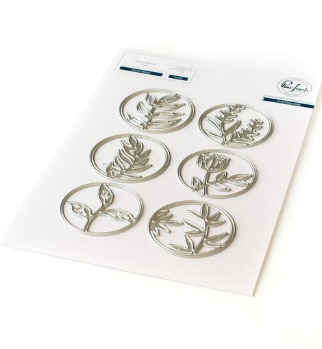 Pinkfresh Studio Floral Circles Die Set - Crafty Meraki
