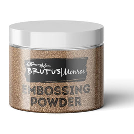 Brutus Monroe Metallic Embossing Powder- Penny - Crafty Meraki