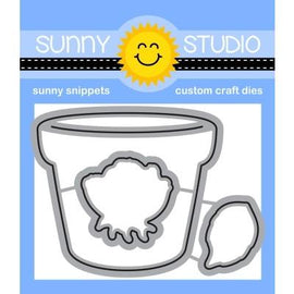 Sunny Studio Stamps Potted Rose Dies-Wholesale - Crafty Meraki