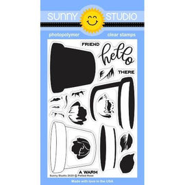 Sunny Studio Stamps Potted Rose Stamps-Wholesale - Crafty Meraki