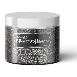 Brutus Monroe Embossing Powder-Raven Sparkle - Crafty Meraki