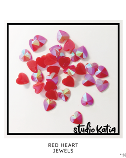 Studio Katia Red Heart Crystals - Crafty Meraki