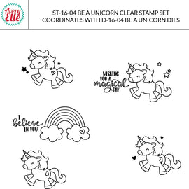 Avery Elle Be A Unicorn Clear Stamps - Crafty Meraki