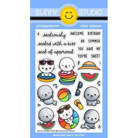 Sunny Studio Stamps Sealiously Sweet Stamps-Wholesale - Crafty Meraki