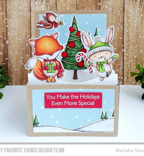 My Favorite Things SY Christmas Cheer Die-namics - Crafty Meraki