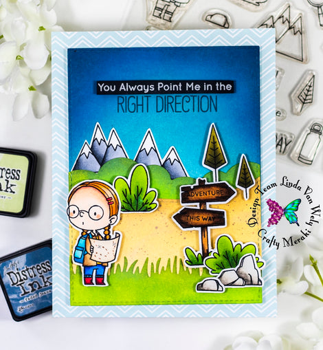 My Favorite Thing BB Adorable Adventures Stamp set - Crafty Meraki