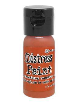 Ranger Tim Holtz Distress®Flip Top Paint Crackling Campfire 1oz - Crafty Meraki