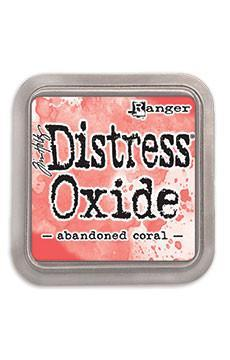 Ranger Tim Holtz Distress® Oxide® Ink Pad Abandoned Coral - Crafty Meraki