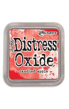 Ranger Distress Tim Holtz Distress® Oxide® Ink Pad Candied Apple - Crafty Meraki