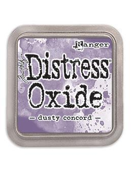 Ranger Tim Holtz Distress® Oxide® Ink Pad Dusty Concord - Crafty Meraki