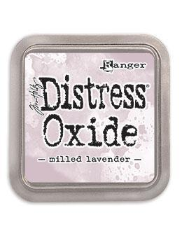 Ranger Distress Tim Holtz Distress® Oxide® Ink Pad Milled Lavender - Crafty Meraki