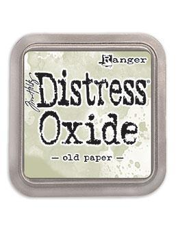 Ranger Tim Holtz Distress® Oxide® Ink Pad Old Paper - Crafty Meraki