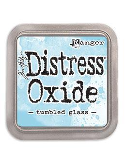 Ranger Distress Tim Holtz Distress® Oxide® Ink Pad Tumbled Glass - Crafty Meraki