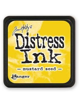 Ranger Tim Holtz Mini Distress® Ink Pad Mustard Seed - Crafty Meraki