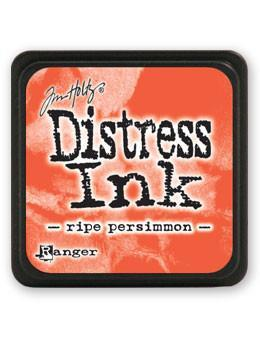 Ranger Tim Holtz Mini Distress® Ink Pad Ripe Persimmon - Crafty Meraki